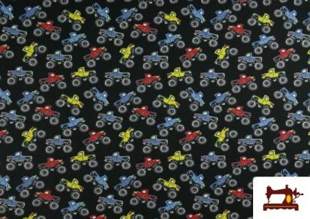 Comprar Punto de Camiseta Estampado Monster Trucks