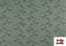 Comprar online Punto de Camiseta Estampado Pétalos color Verde mar