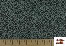 Comprar online Tela de Algodón Estampado Leopardo de colores color Verde mar