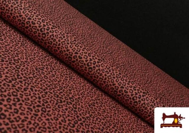Venta online de Tela de Algodón Estampado Leopardo de colores