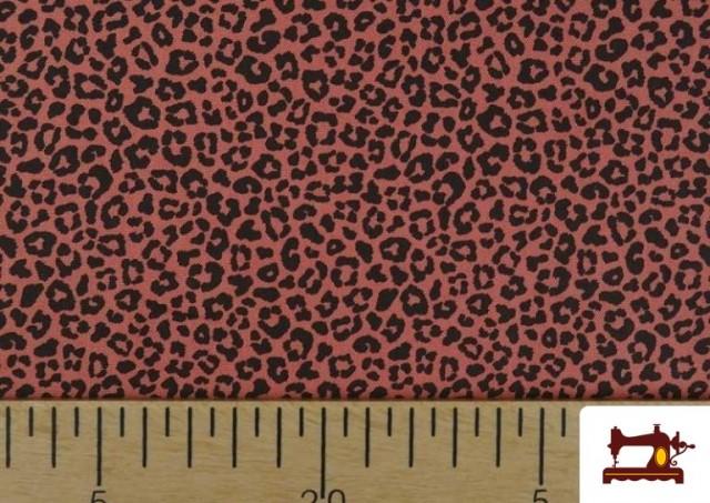 Tela de Algodón Estampado Leopardo de colores