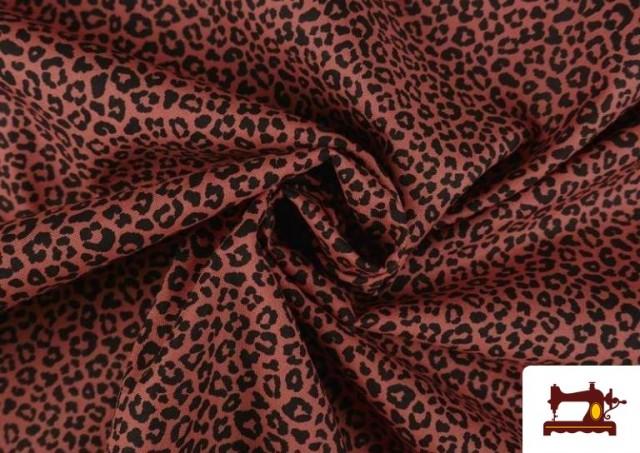Comprar Tela de Algodón Estampado Leopardo de colores