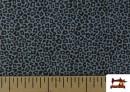 Comprar online Tela de Algodón Estampado Leopardo de colores color Azul Marino