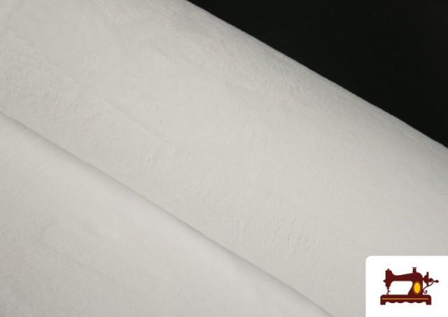 Comprar Tela de Rizo de Bambú de Colores Pastel color Blanco