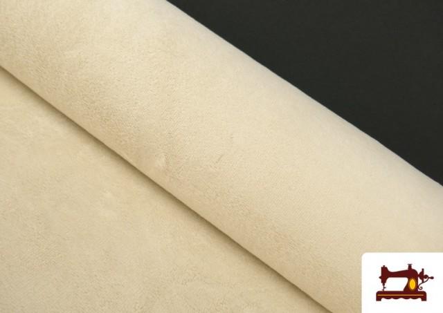 Comprar online Tela de Rizo de Bambú de Colores Pastel color Beige
