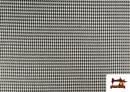 Venta de Tela de Viella Estampado Pata de Gallo mini