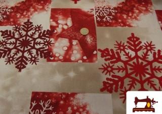 Comprar tela de loneta decoración navideña