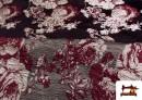 Comprar online Tela de Brocado Jacquard Bicolor Reversible