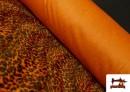 Comprar Tela de pelo de leopardo de colores color Naranja