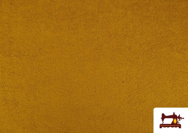 Comprar Tela para Toallas Rizo 100% Algodón de Colores color Mostaza