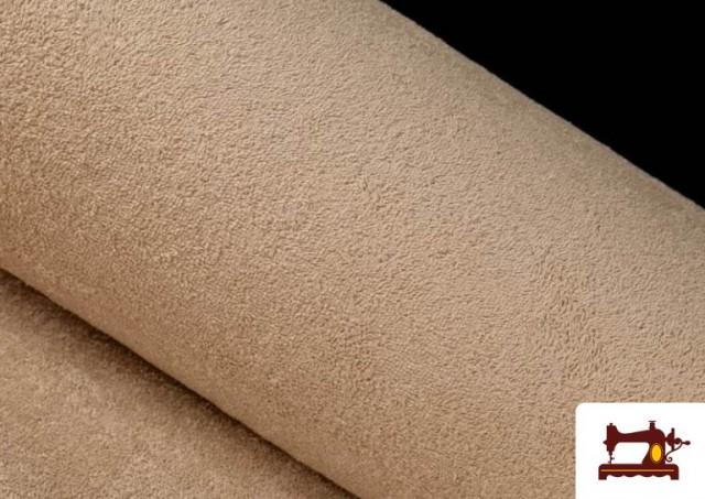 Tela para Toallas Rizo 100% Algodón de Colores color Beige