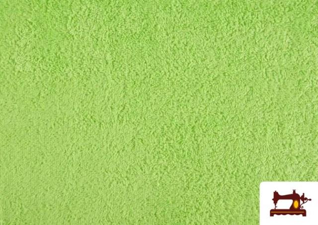 Comprar Tela para Toallas Rizo 100% Algodón de Colores color Verde mint