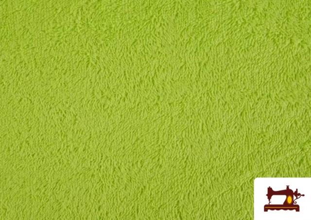Venta online de Tela para Toallas Rizo 100% Algodón de Colores color Pistacho