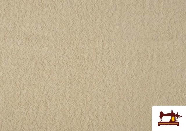 Venta online de Tela para Toallas Rizo 100% Algodón de Colores color Crudo