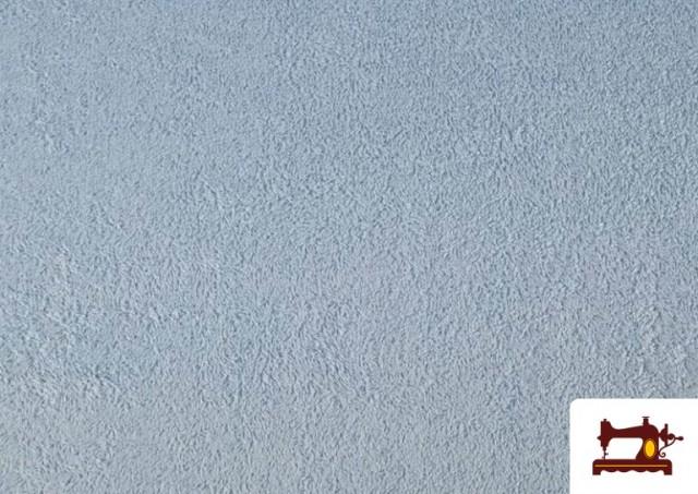 Comprar online Tela para Toallas Rizo 100% Algodón de Colores color Azul