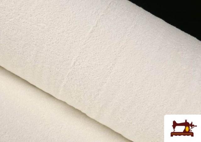Comprar Tela para Toallas Rizo 100% Algodón de Colores color Blanco