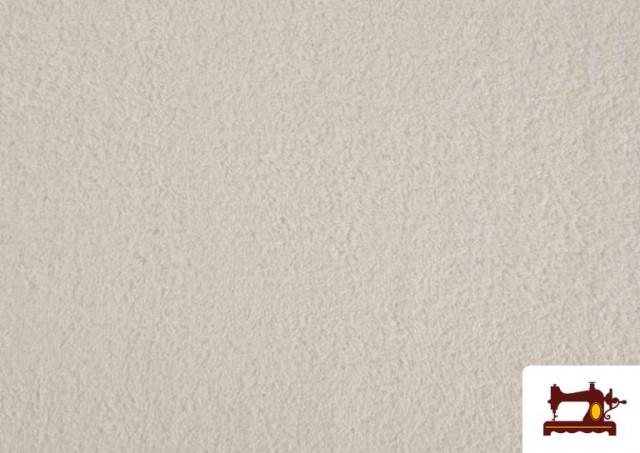 Venta de Tela para Toallas Rizo 100% Algodón de Colores color Blanco