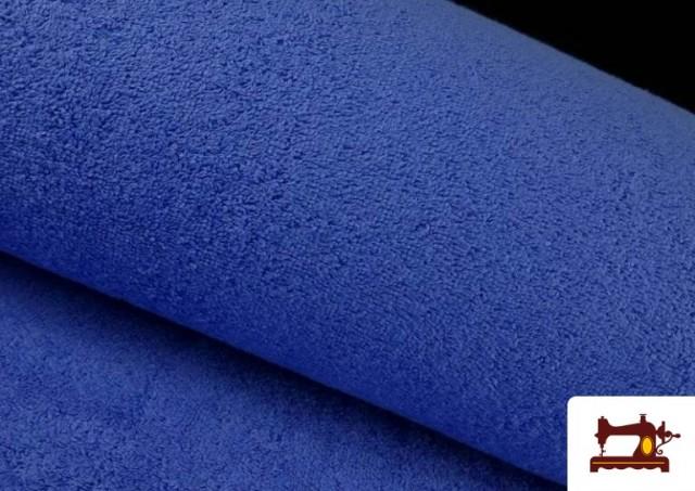 Venta online de Tela para Toallas Rizo 100% Algodón de Colores color Azul azafata