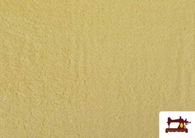 Tela para Toallas Rizo 100% Algodón de Colores color Champagne