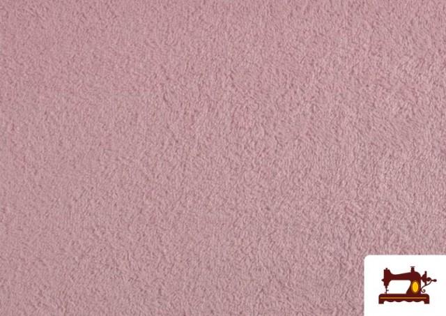 Tela para Toallas Rizo 100% Algodón de Colores color Rosa pálido