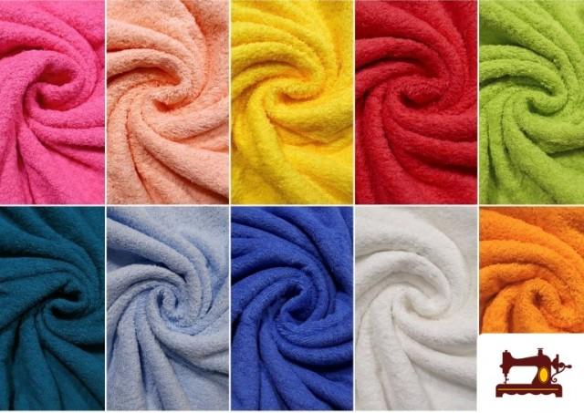 Comprar Tela para Toallas Rizo 100% Algodón de Colores