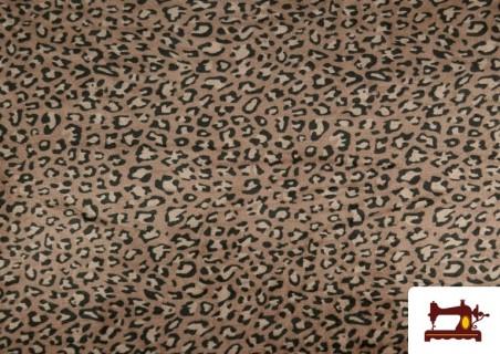 Comprar Tela de Coralina Polar Suave de Leopardo