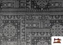 Comprar Tela de Coralina Polar Suave dibujo Cachemir