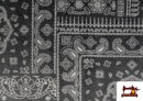 Venta online de Tela de Coralina Polar Suave dibujo Cachemir