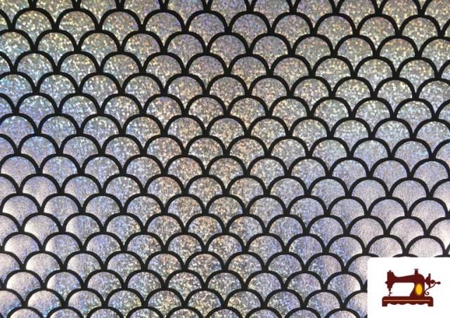 Comprar online Tela de Lycra Escamas de Pez Holográficas
