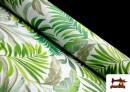 Comprar Tela Loneta Estampada con Flores Tropicales