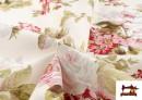 Venta online de Tela de Loneta con Estampado Floral