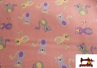 Retal Fat Quarter Rosa para Patchwork