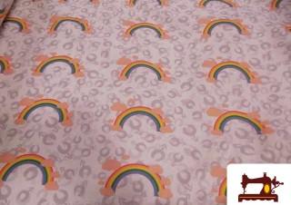 Comprar estampada tela con el arcoiris