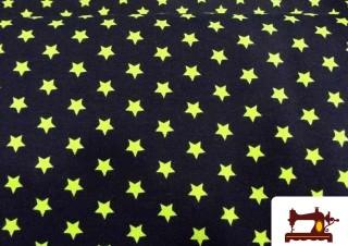 Comprar Tela de Punto de Camiseta de Estrellas