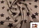 Comprar tela de Punto camiseta  con Estrellas