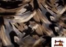 Tela de creppé con caida estampado multicolor