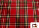 Comprar Tela de Cuadros para Mantel de  Navidad
