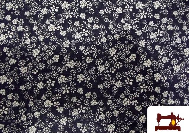 Comprar tela de Tejano Estampado de Flores