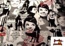 Comprar Tela con Motivos de la actriz Audrey Hepburn