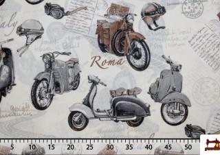 Tela de Motos Vespa Clásicas