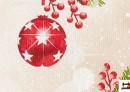 Comprar Tela de Decoración con Bolas de Navidad