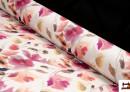 Algodón Estampado Floral Tonos Suaves