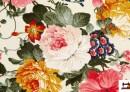 Comprar Tela con Estampado Floral Multicolor