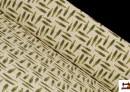 Tela de Punto de Camiseta Estampado Coordinado con Cocodrilos
