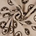Punto Camiseta Sudadera de Algodón Estampado