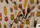 Comprar tela con estampado de insectos