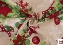 Comprar online Tela de Algodón Anti Manchas Estampado de Navidad
