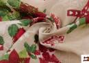 Venta online de Tela de Algodón Anti Manchas Estampado de Navidad