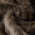 Venta de Tela de Pelo Simil Marmota Natural Gris