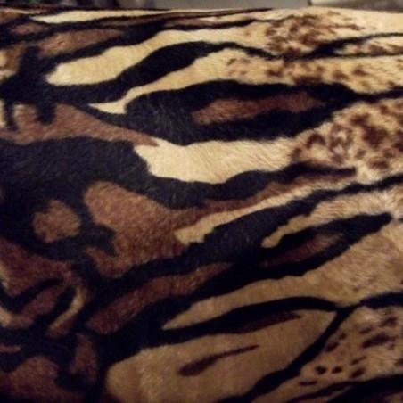 Tela Estampado de Tigre - Pelo Corto